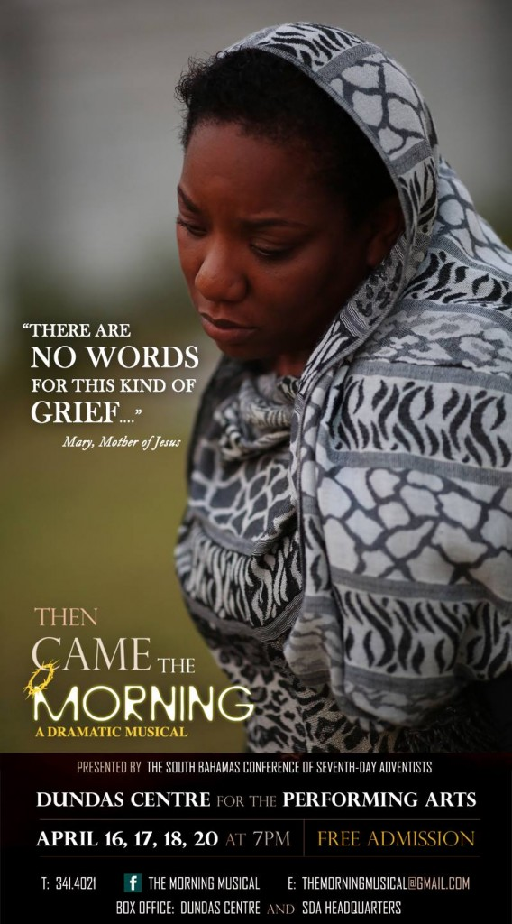 Patrice Williams-Gordon in the Christian play, Then Came The Morning