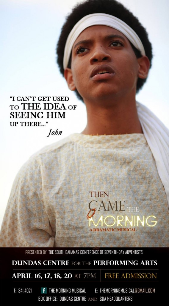 Jo'Paul Scavella as friend of Jesus in Then Came The Morning.
