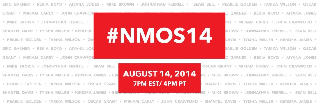 National Moment of Silence 2014 Banner via Facebook and @feministajones
