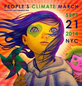 Image via the People's Climate March