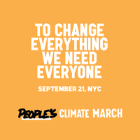"""To change everything, we need everyone."" 