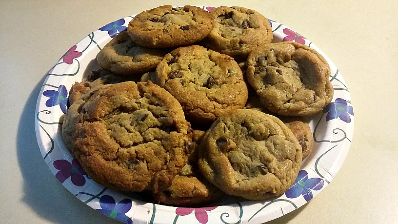A plate of cookies much like those that won't be made and sold for LGBT youth homelessness in Berrien Springs, MI.