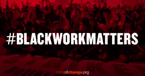 "#BlackWorkMatters: ""It is criminal to have people working on a full-time basis and...getting part-time income."" —MLK"